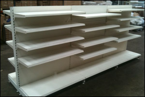Used shop shelving Cardiff London