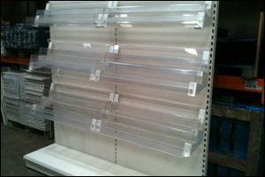 used racking, second hand racking, shop shelving Birmingham